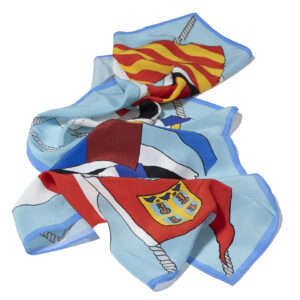 HISC Centenary Long Silk Scarf